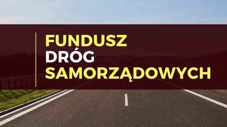Jest dotacja na przebudowę drogi
