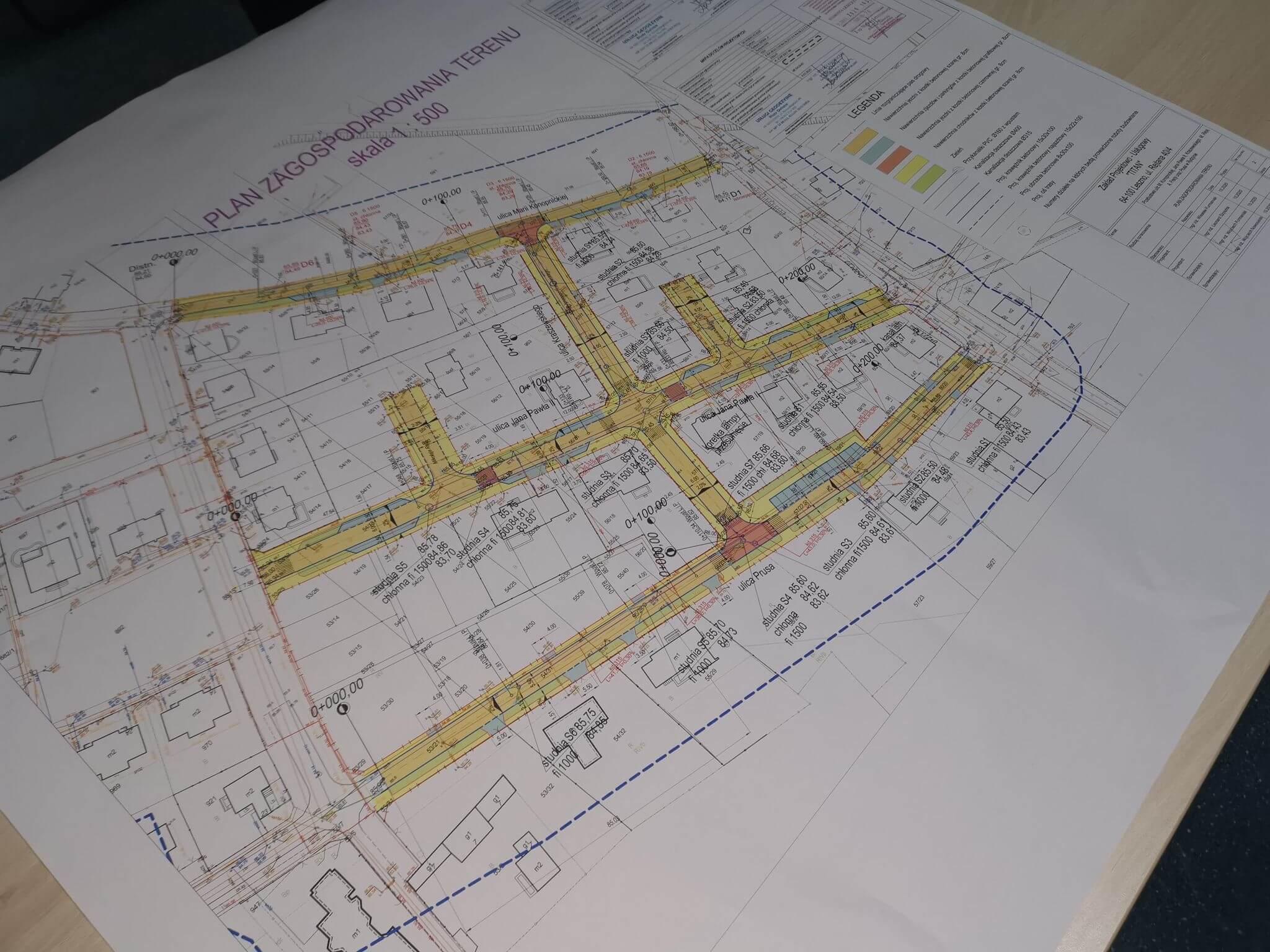 Przebudowa dróg – Rydzyna 2000