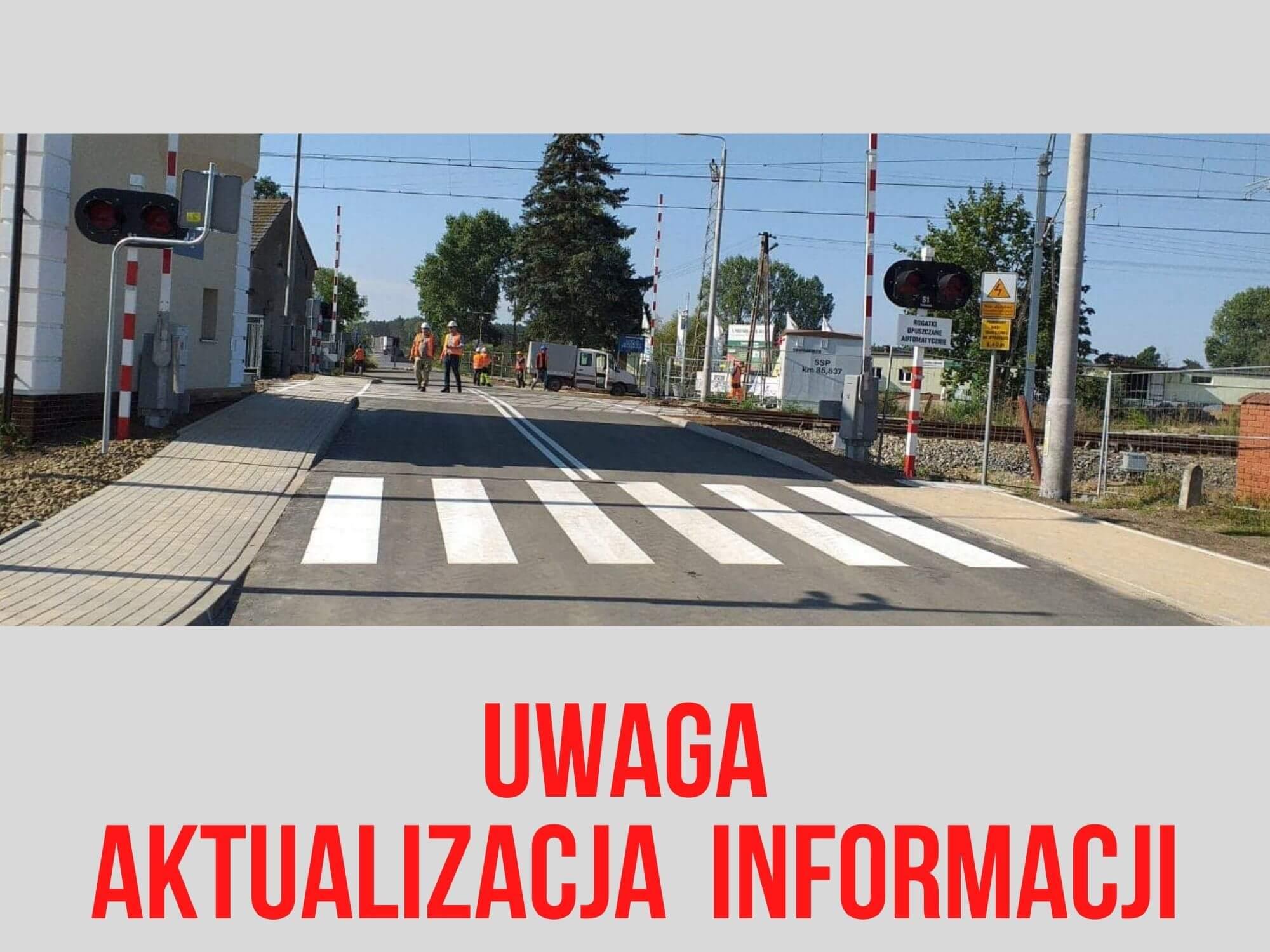 UWAGA aktualizacja terminu zamknięcia przejazdu w Kłodzie