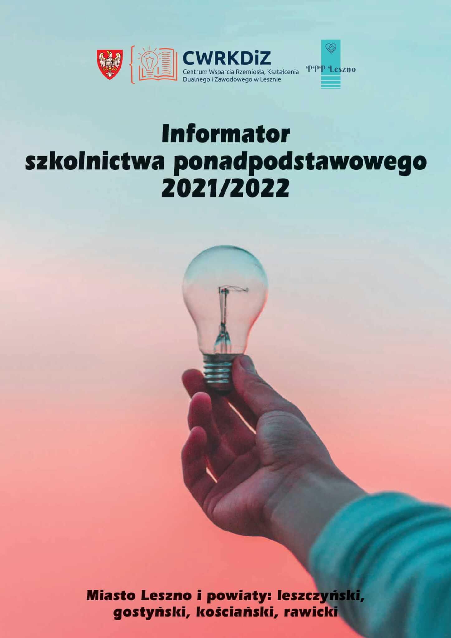 Informator Szkolnictwa Ponadpodstawowego 2021/2022