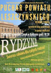 Puchar Powiatu Leszczyńskiego w biegu z mapą