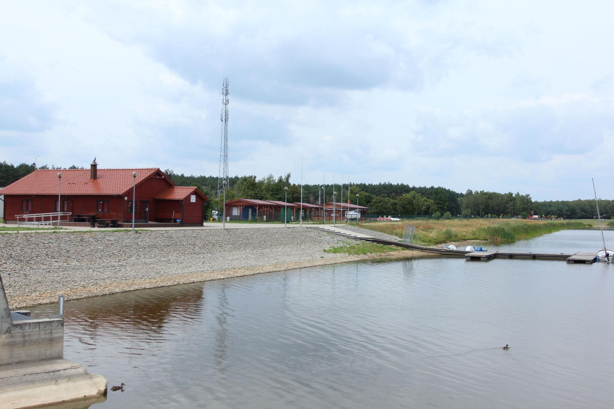 """""""Rydzyna Reservoir"""" in Dąbcze"""