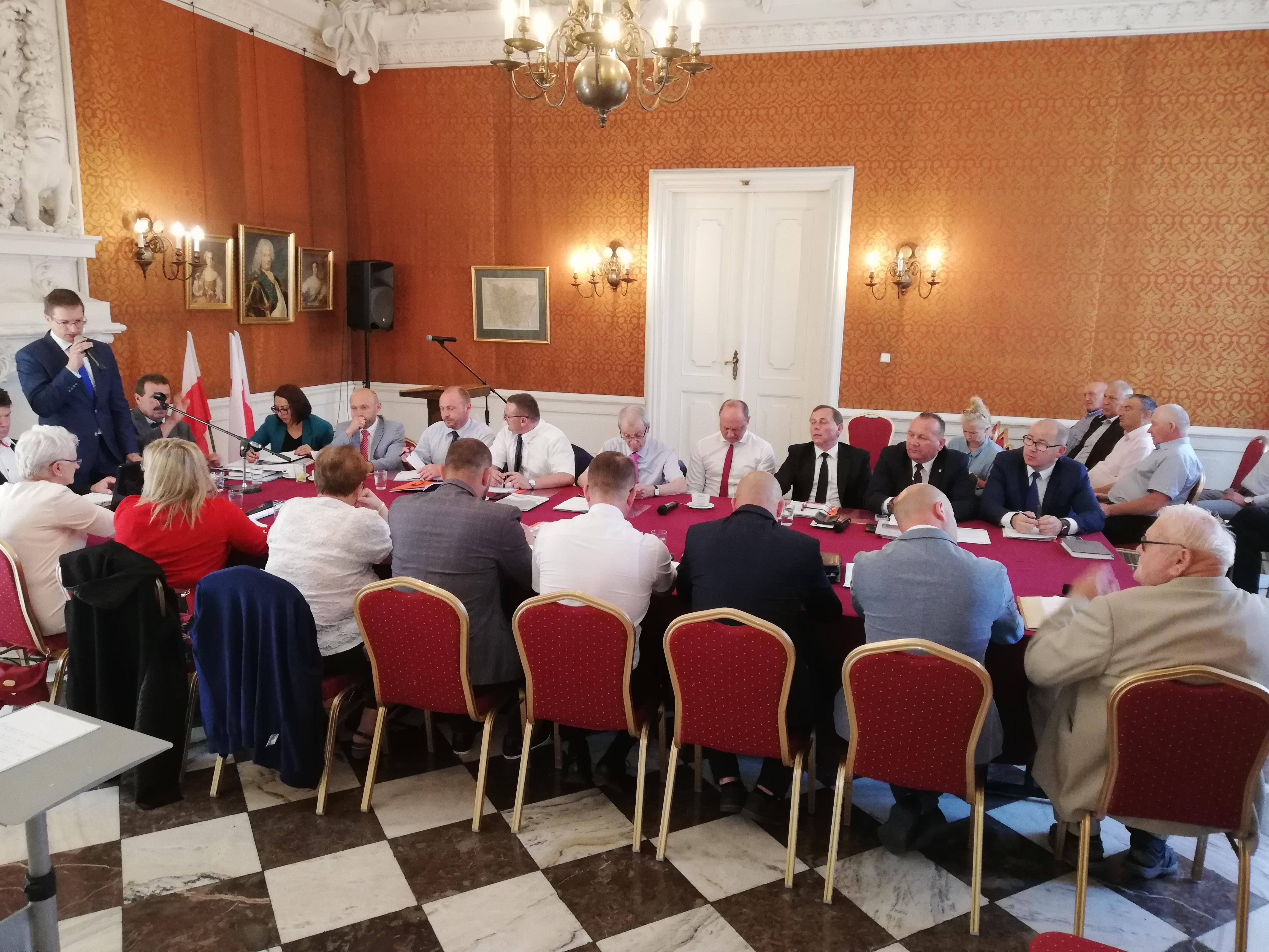 Absolutoryjna Sesja Rady Miejskiej Rydzyny, czerwiec 2019 r.