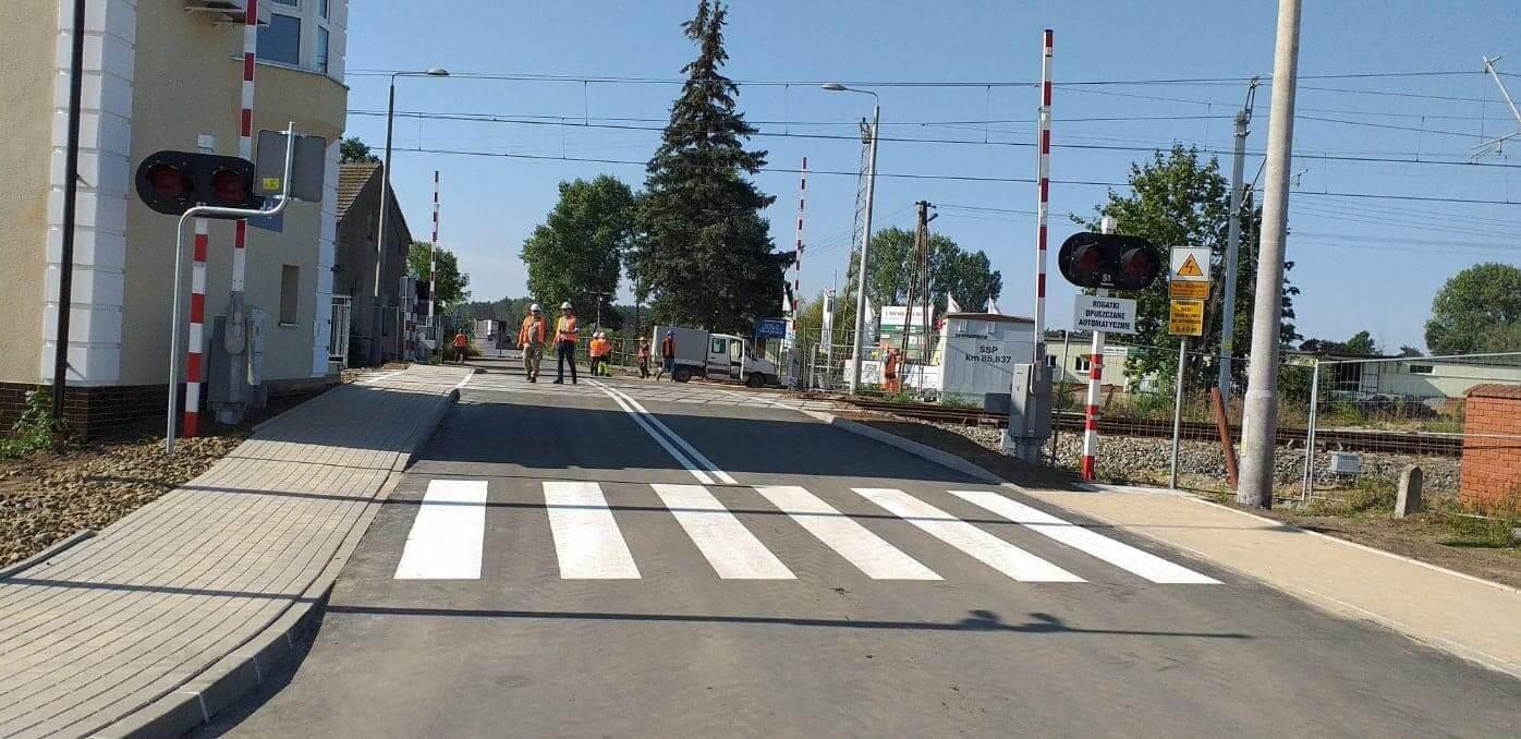 Informacje dotyczące zamknięcia przejazdu kolejowego