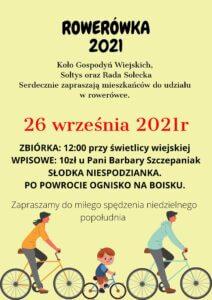 Rowerówka 2021 – Nowa Wieś