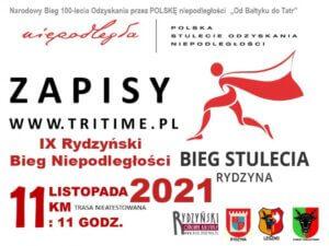 IX Rydzyński Bieg Niepodległości