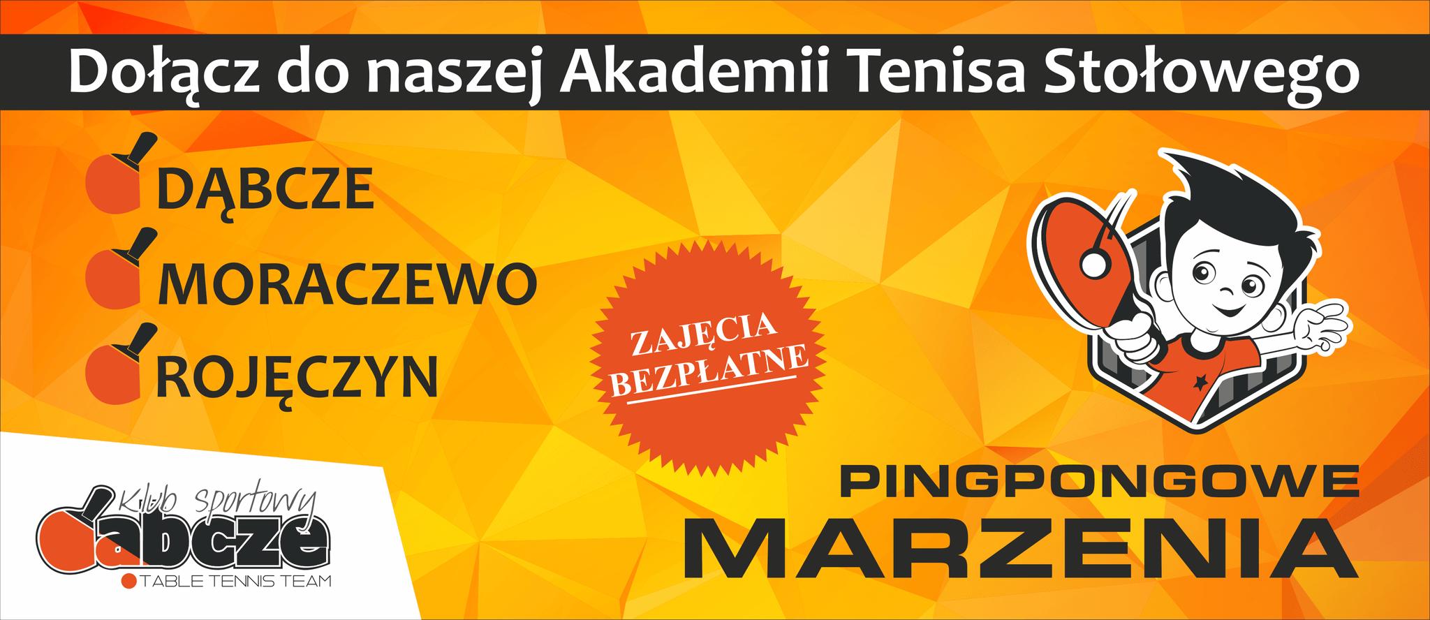 Wamet Dąbcze otwiera nowe Akademie Tenisa Stołowego!
